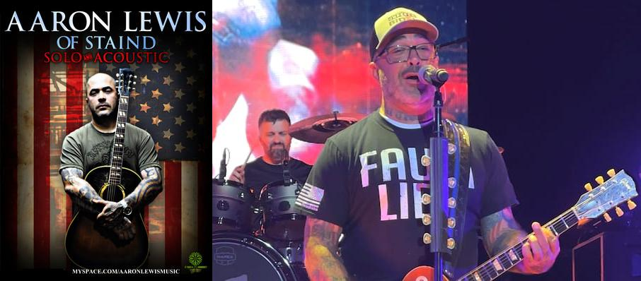 Aaron Lewis at Grand 1894 Opera House